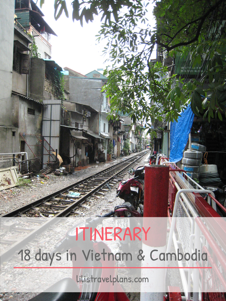 ITINERARY: 18 Days in Vietnam & Cambodia