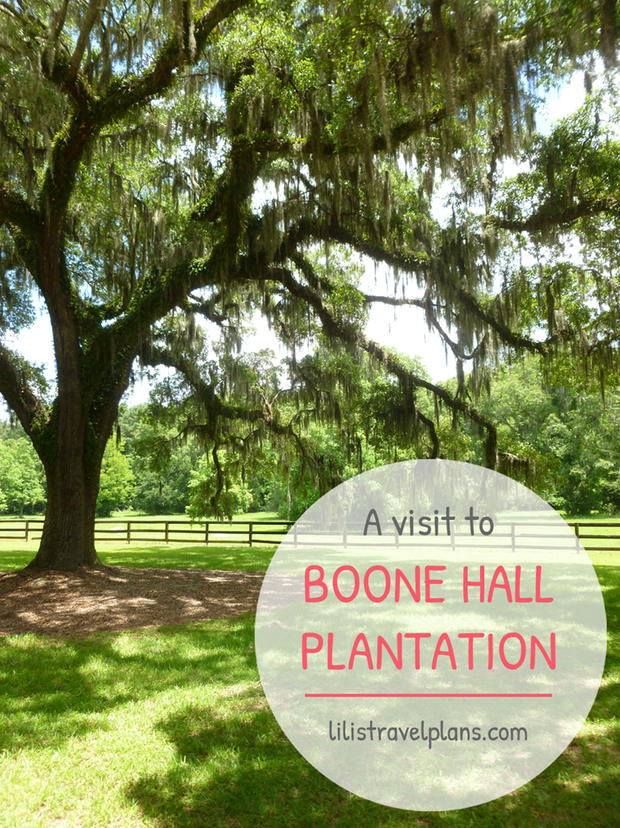 A VISIT TO BOONE HALL PLANTATION, SOUTH-CAROLINA, USA