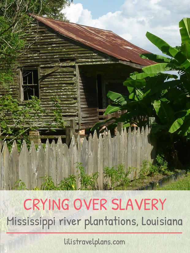 CRYING OVER SLAVERY – A drive along the Mississippi river plantations, Louisiana