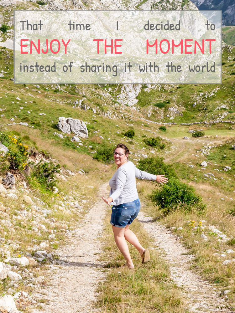 That time I decided to enjoy the moment rather than sharing it with the world – Taking a break from blogging and a holiday from traveling